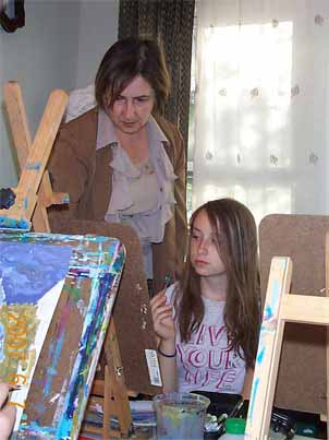 Art classes in Tarzana