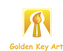 Golden Key Art logo